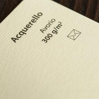 ACQUERELLO AVORIO 300 г/м2 формат SRA3 (32*45 см)