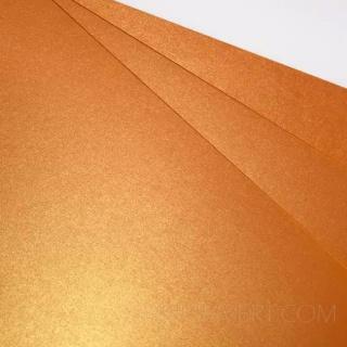 SIRIO PEARL, Orange Glow 300 гр. в листах A4 21 x 29,7 см