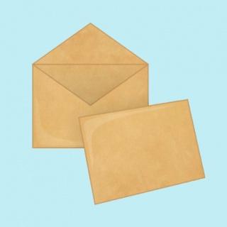 Крафт конверты С4 229х324 мм