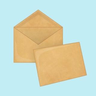 Крафт конверты C6 114х162 мм