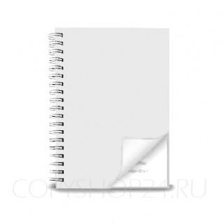 Пластиковая обложка PVC БЕЛАЯ НЕПРОЗРАЧНАЯ для переплета А4 300 микрон, упаковка 100 шт.
