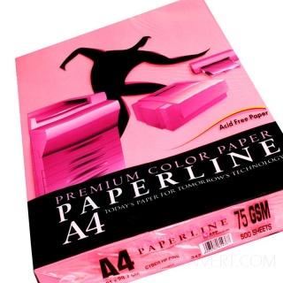 Розовый неон бумага А4 (210х297 мм) 75 гр. 500 листов