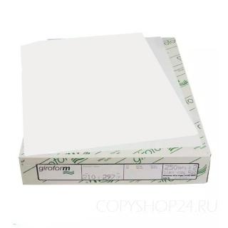 Бумага для самокопирующих бланков Giroform белого цвета А4 210х297 мм (500 листов) Верхний слой