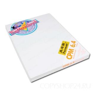 Термотрансферная бумага THE MAGIC TOUCH CPM 6.4 А4 на нетканевые поверхности: металл, пластик, картон, дерево, керамику, Термотрансфер.