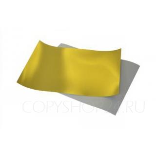 Термопленка JS3DM золото для сублимации A4 (50 шт.), Термотрансфер.