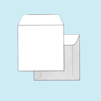 Квадратный конверт 150х150 мм для открыток 61