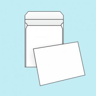 Белый офсет, 140 гр/м2, Прямой клапан, Декстрин, Повышенной плотности, Клапан по короткой стороне